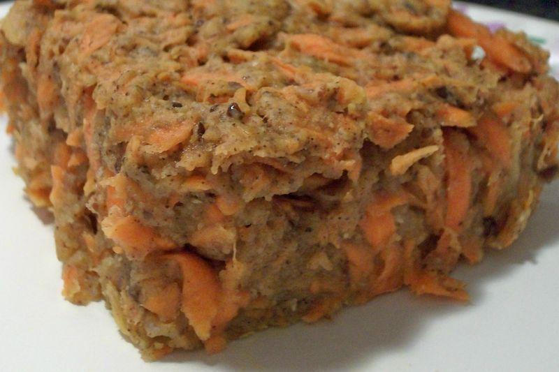 Carrot cake plain
